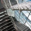 Open stairwell in modern office building — Stock Photo #7383585