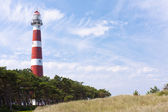 Dutch Lighthouse of Ameland — Stock Photo