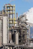 Fábrica de acero holandesa en ijmuiden — Foto de Stock