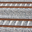 Stock Photo: Tracks of new railway in netherlands