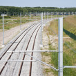 New railway in the netherlands - Stockfoto