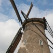 Foto Stock: Windmill in Netherlands