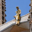 Detail of Gaudi's Sagrada Familia in Barcelona, Spain - Stock Photo