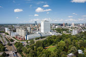 Aerial view of the Erasmus university hospital of Rotterdam, the — 图库照片