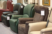 Showroom for retail of luxury armchairs — Foto de Stock