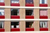 Verschillende niveaus met kamers van een groot appartement — Stockfoto