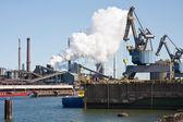 Steelfactory in the Netherlands — Stock Photo