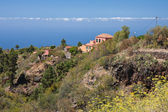 Houses at coast of La Palma, Canary Islands — Stock Photo