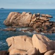 Rocky coast of Brittany, France — Stock Photo #7547894