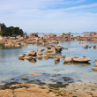 Coast of Brittany in France, near Ploumanach — Stock Photo