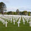 American cemetery at Omaha Beach, Normany France — Stock Photo