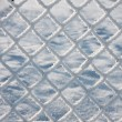 Stock Photo: Detail of barbwire covered by snow