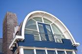 Fasaden på ett nytt modernt hus — Stockfoto