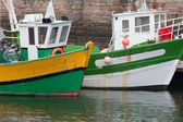 Fishing boats in harbor of Paimpol, France — Stock Photo