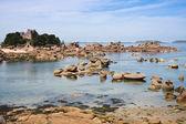 Coast of Brittany in France, near Ploumanach — Stock Photo