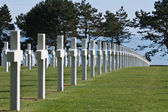 American WWII cemetery in Normandy — Stock Photo