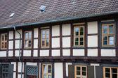 Eski tarihi şehir quedlinburg, almanya'nın — Stok fotoğraf