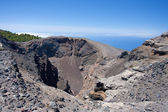 Crater of Hoya Negro, volcano at La Palma, Spain. — Stock Photo