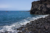 Beach with pebbles at La Palma — 图库照片