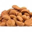 Ginger nuts, Dutch sweets for the celebration of Sinterklaas at — Stock Photo