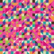 Colorful Illustration of Mosaic — Stock Vector #7412675