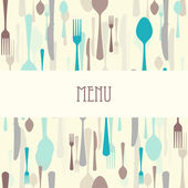 Dining Restaurant Menu — Stock Vector