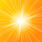 Sunshine vector background — Vector de stock