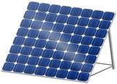 Solar panel in 3D — Stock Vector