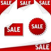 Rótulos de venda — Vetorial Stock