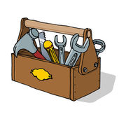 Toolbox Vector Illustration — Stock Vector