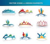 Pack d'icônes — Vecteur