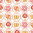 Royalty-Free Stock Vector Image: Cute pattern