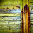 Old shabby wooden fence — Stock Photo