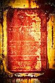 Metal window — Stock Photo