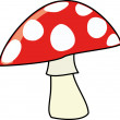 Stock Photo: Forest mushroom