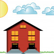 Stock Photo: House illustration