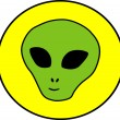 Alien illustration — Stock Photo