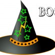 Stock Photo: Witch hat