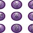 Web-Icons — Stockfoto