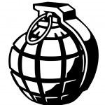 Hand grenade — Stock Photo #7513105
