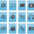 Web icons — Stock Photo #7513301