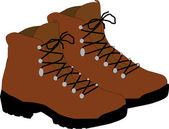 Pesadas botas — Foto de Stock