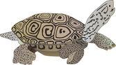 Reptile turtle — Stock Photo
