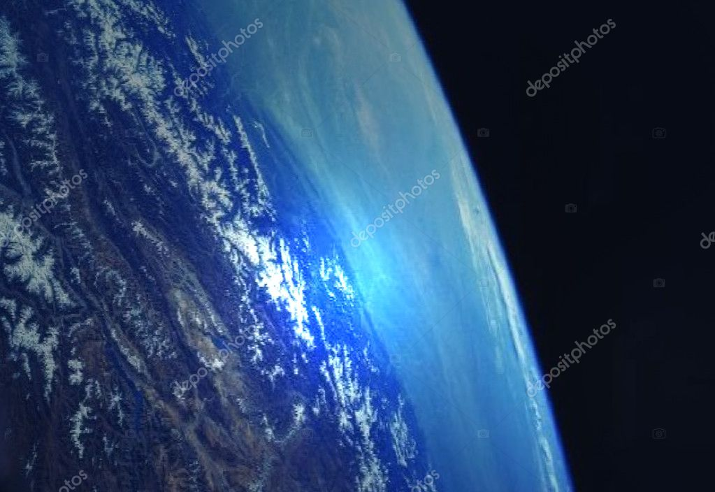 Earth illustration — Stock Photo #7512283