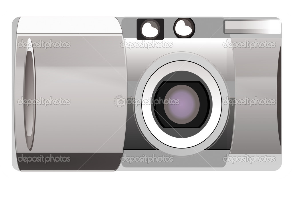 Digital camera — Stock Photo #7512763