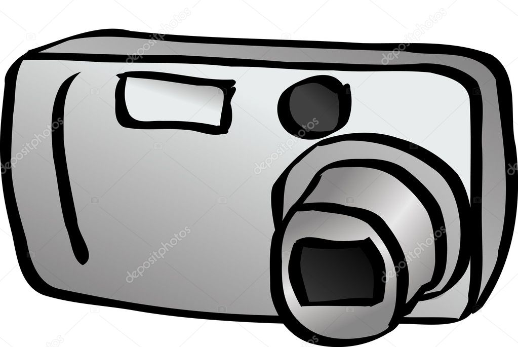 Digital camera — Stock Photo #7512769