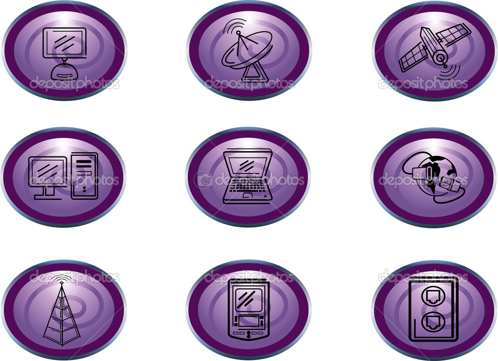 Set of Web icons — Stock Photo #7513068