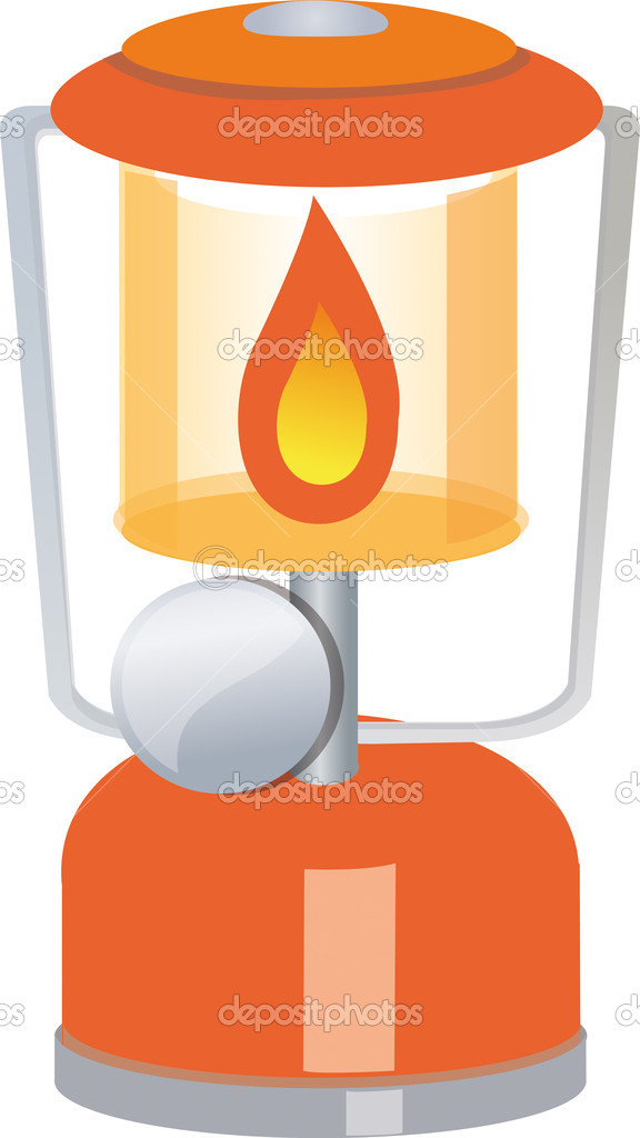 Gas lamp illustration — Stock Photo #7513161