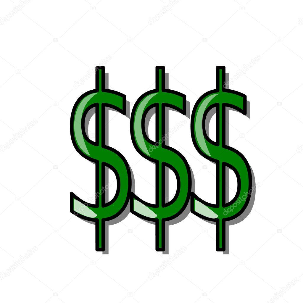 Money symbol — Stock Photo © moreaux.j #7513178Money Logo Symbols