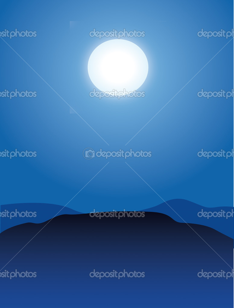 Moon illustration — Stock Photo #7513225